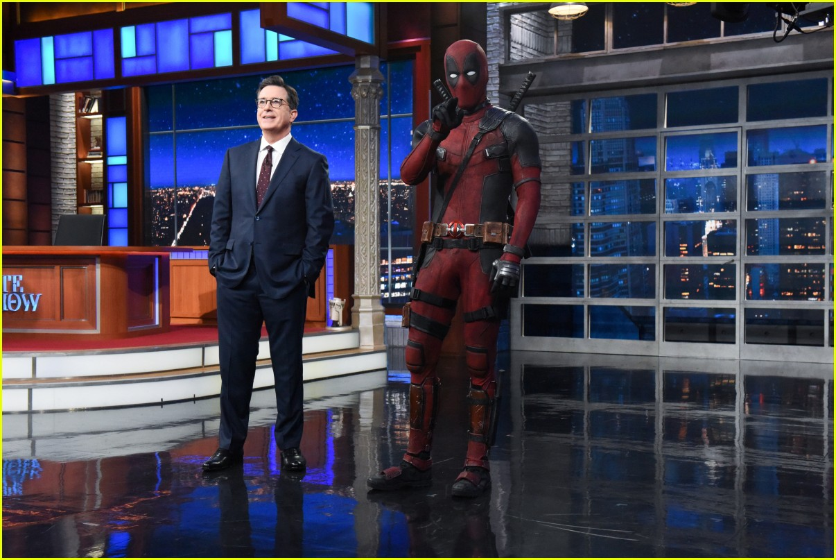 deadpool crashes stephen colbert 014084124