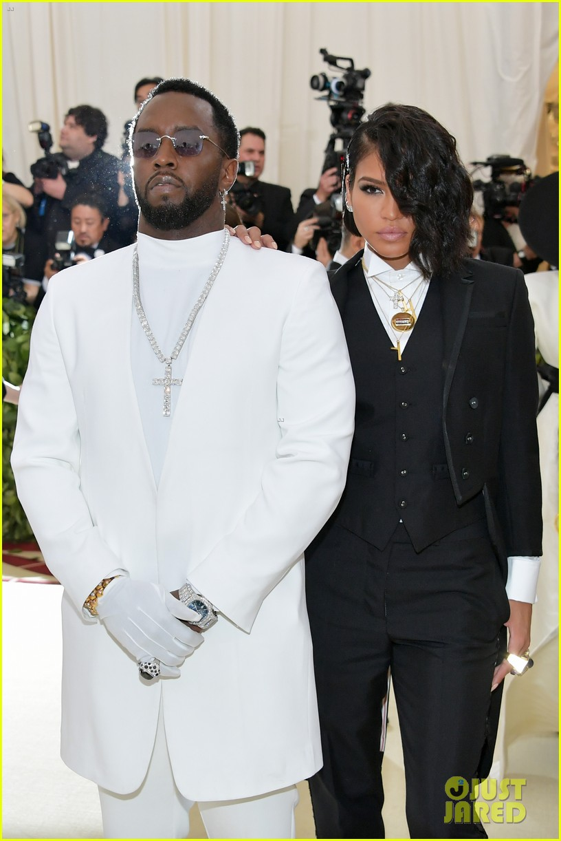 diddy amp cassie are a chic couple at met gala 2018 photo