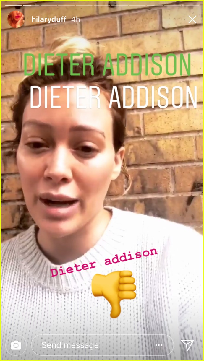hilary duff calls out dieter addison 03