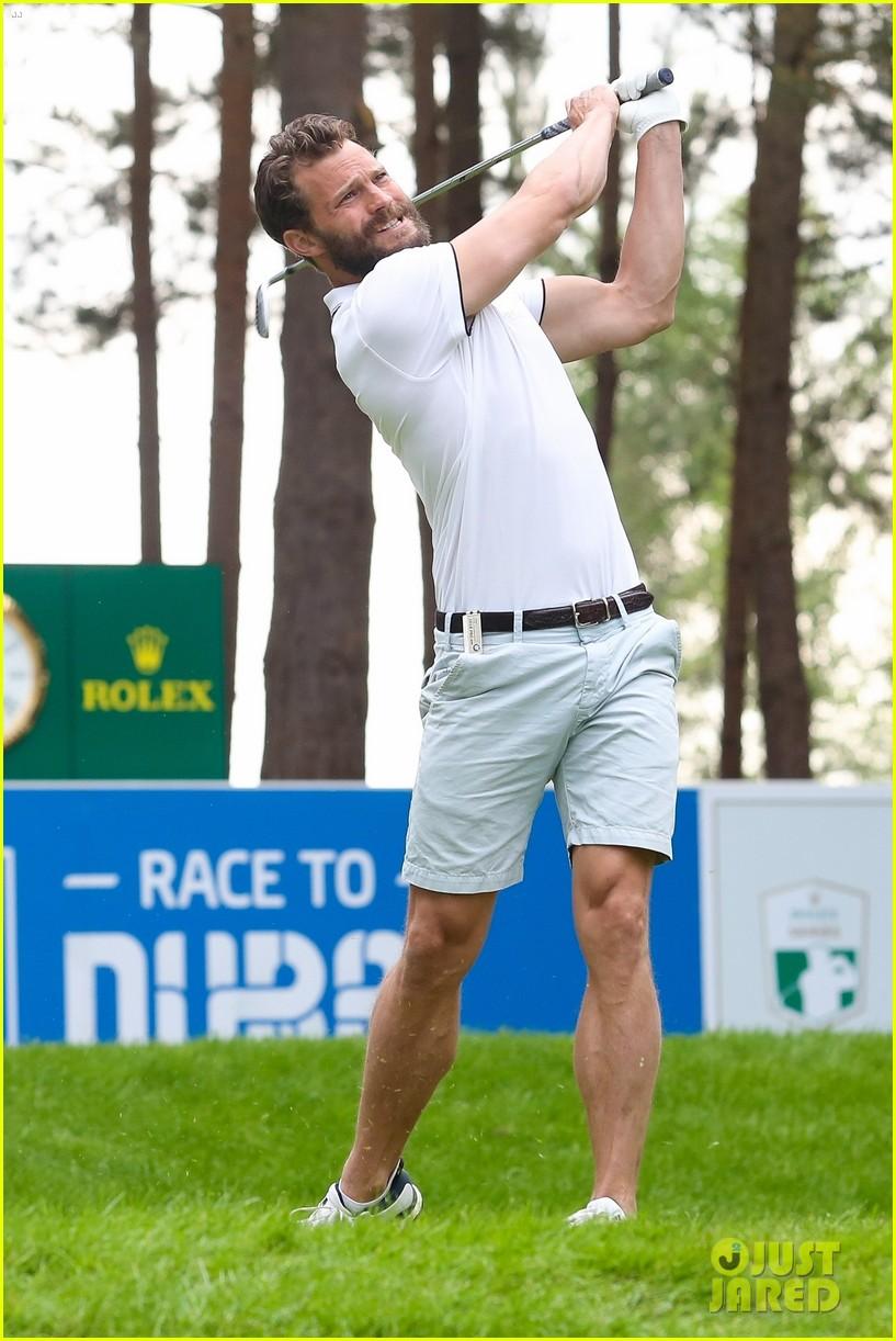 jamie dornan golf game with matthew goode 164090077