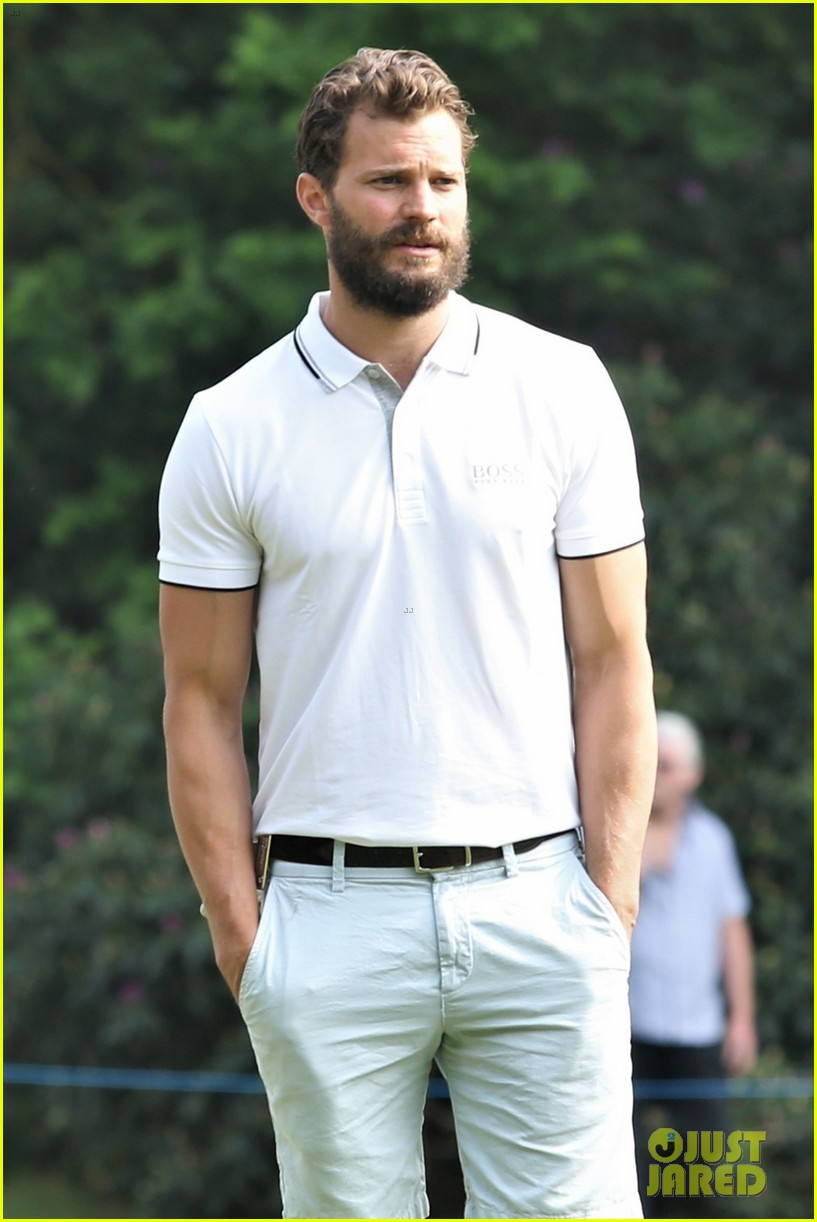 jamie dornan golf game with matthew goode 214090082