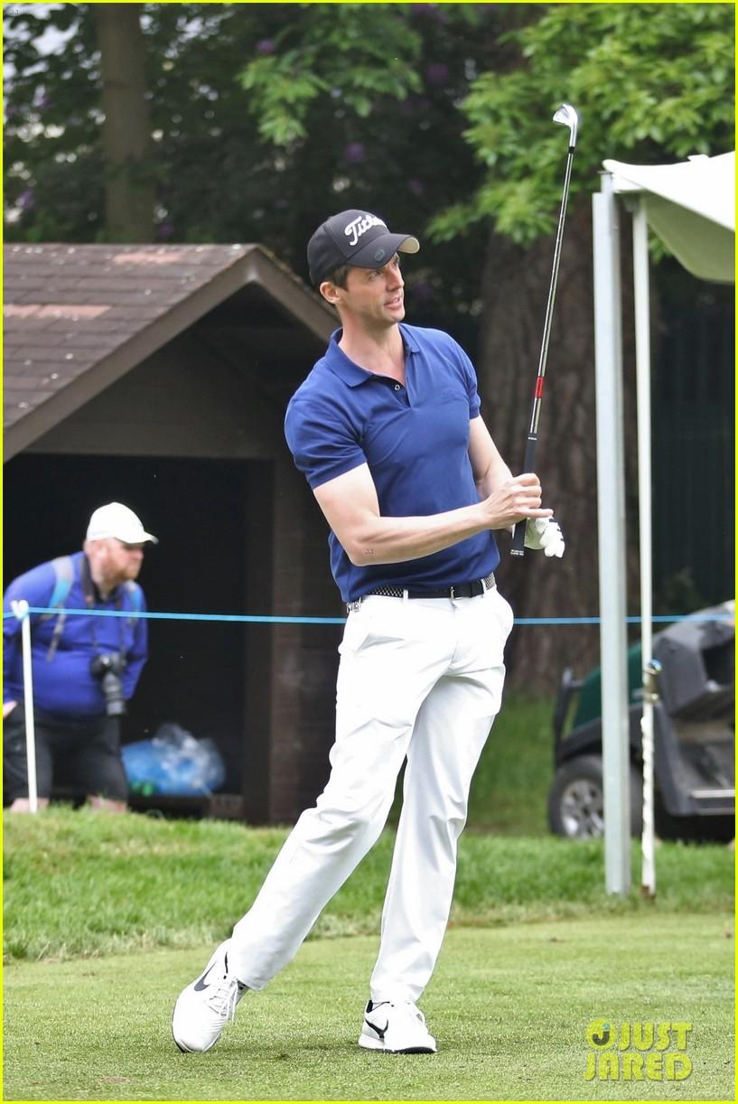 jamie dornan golf game with matthew goode 444090105