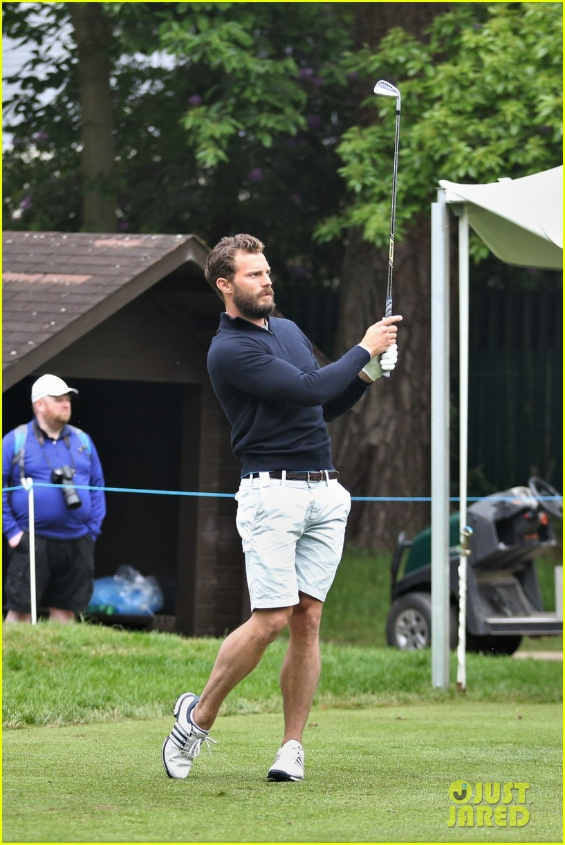 jamie dornan golf game with matthew goode 474090108