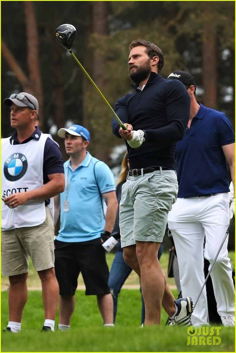 jamie dornan golf game with matthew goode 654090126