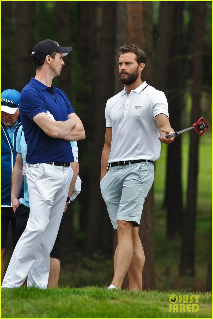 jamie dornan golf game with matthew goode 694090130