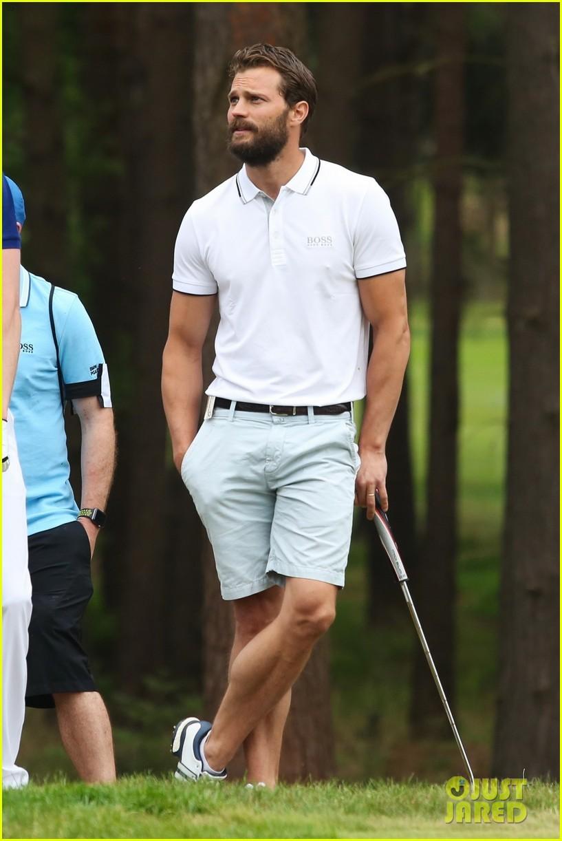 jamie dornan golf game with matthew goode 704090131