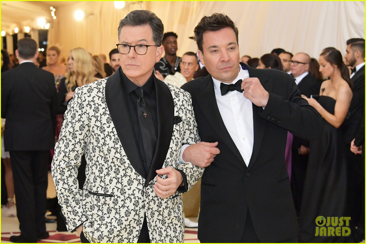 jimmy fallon stephen colbert have zoolander moment at met gala 014079166