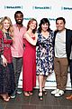frozen broadway cast get together to promote album at siriusxm 13
