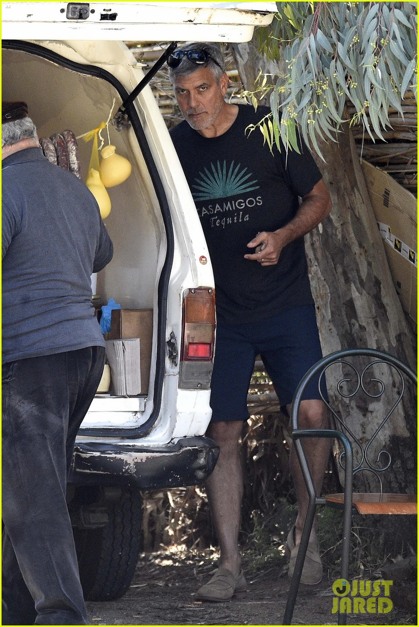 Daily Mail George Buys Cheese In Sardinia George-clooney-picks-up-some-local-cheese-in-sardinia-10