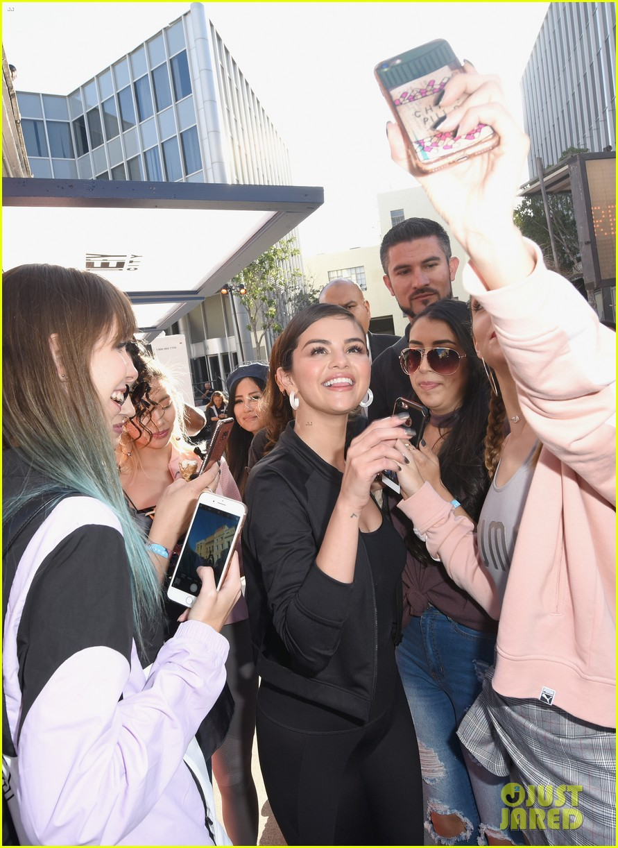 27c95ad4f2cae5 Selena Gomez Visits Puma Defy City to Launch New Sneaker Collection ...