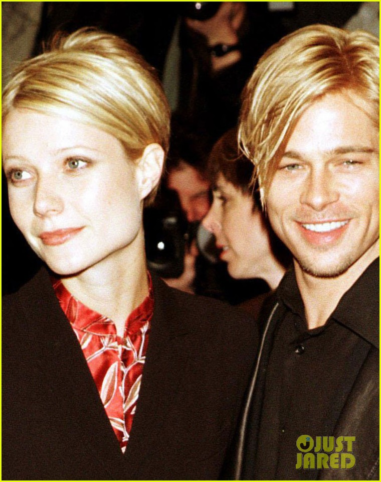 gwyneth paltrow brad pitt photos 044090047