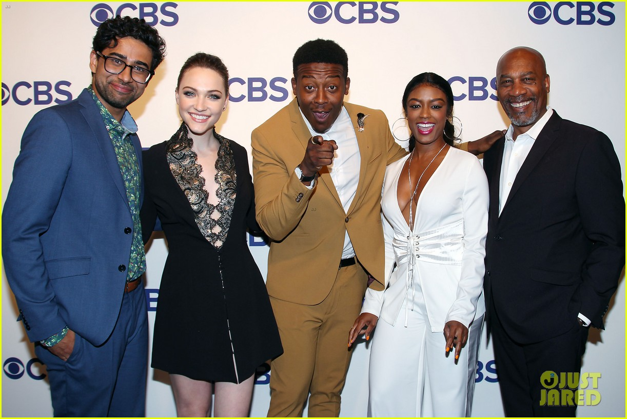 brandon micheal hall brings god friended me to cbs upfronts 034084416