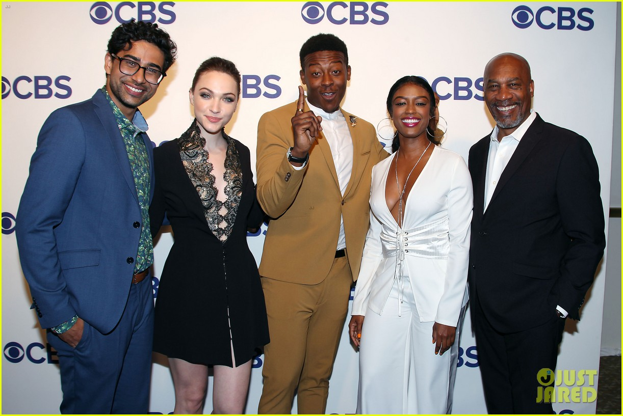 brandon micheal hall brings god friended me to cbs upfronts 094084422