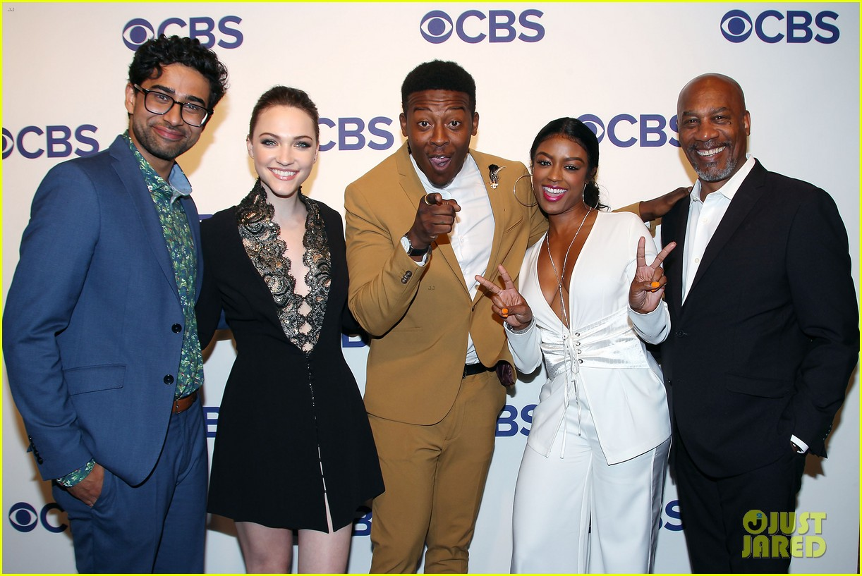 brandon micheal hall brings god friended me to cbs upfronts 124084425