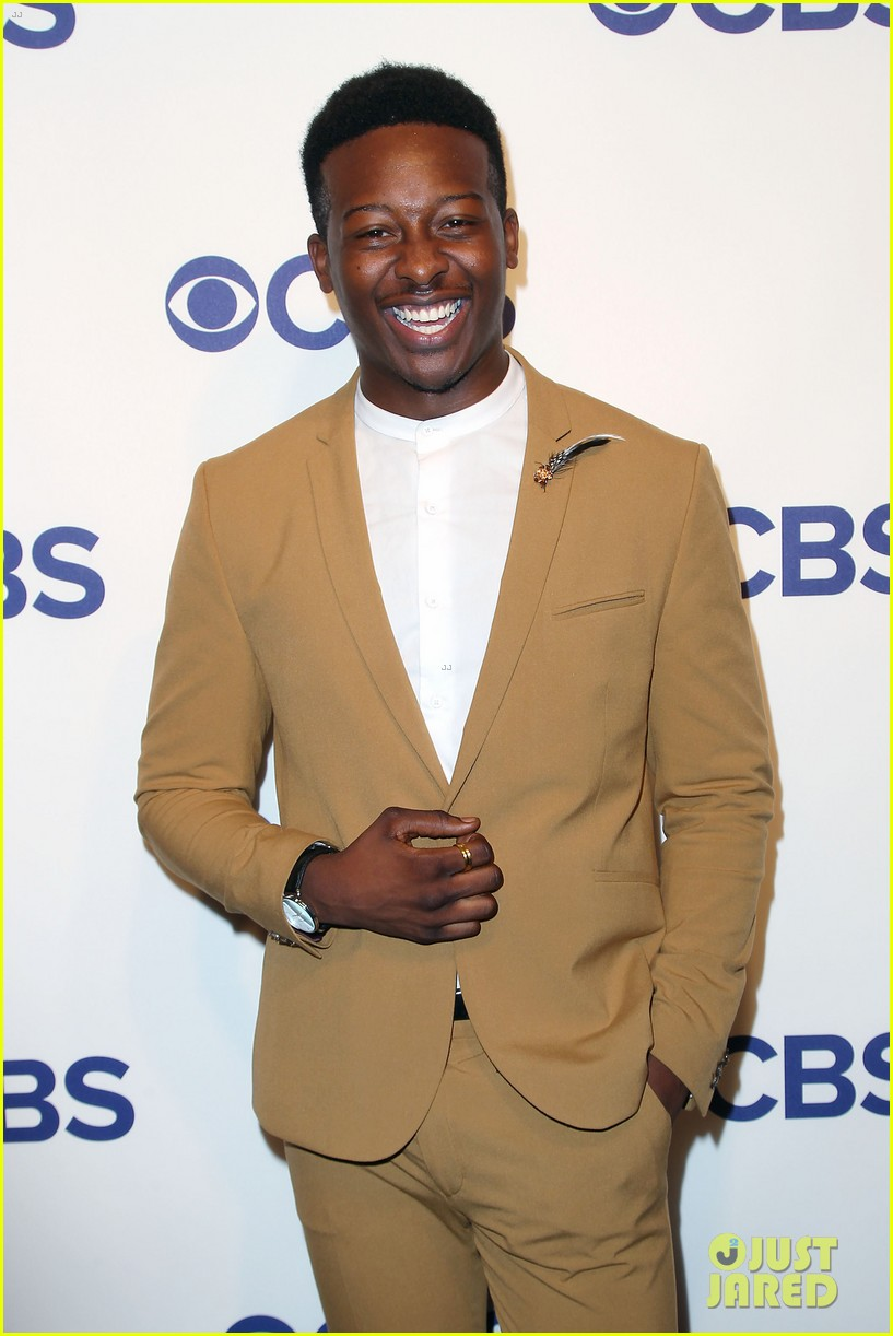 brandon micheal hall brings god friended me to cbs upfronts 144084427