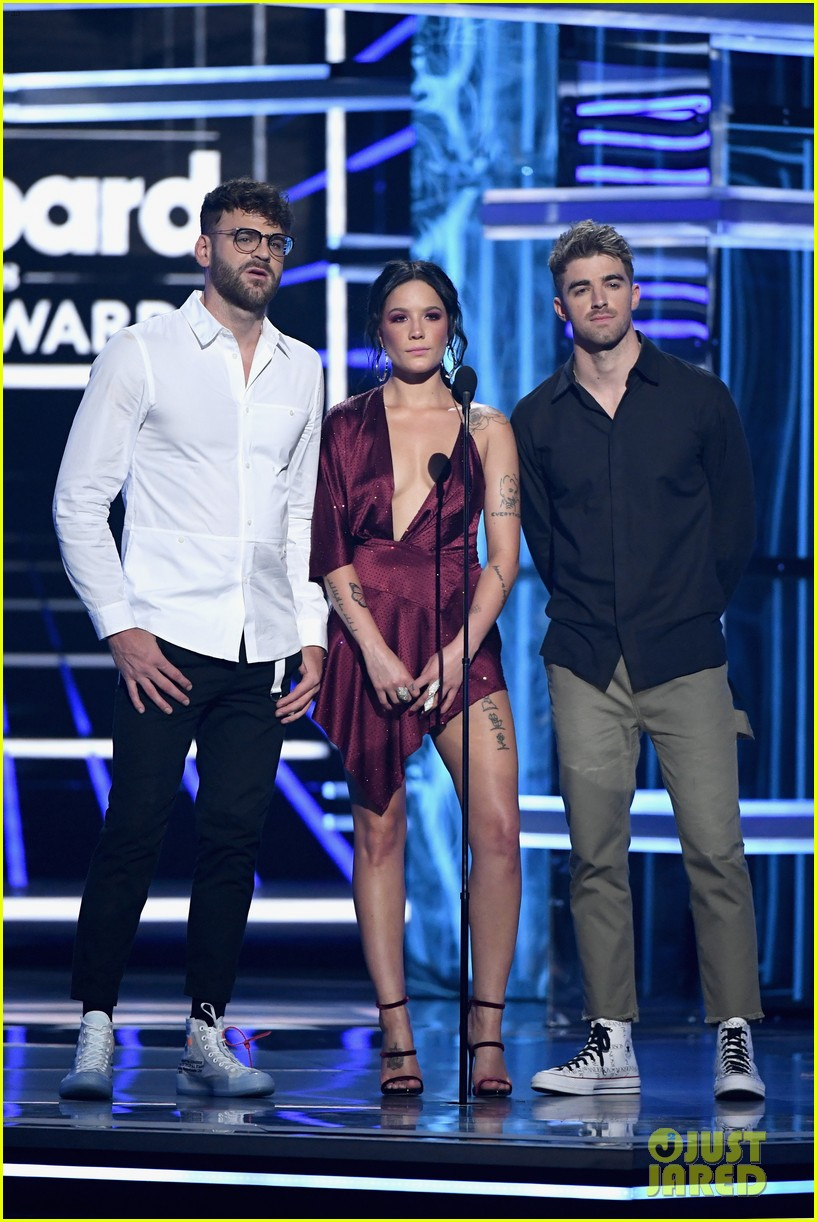 halsey the chainsmokers billboard music awards 2018 034087478