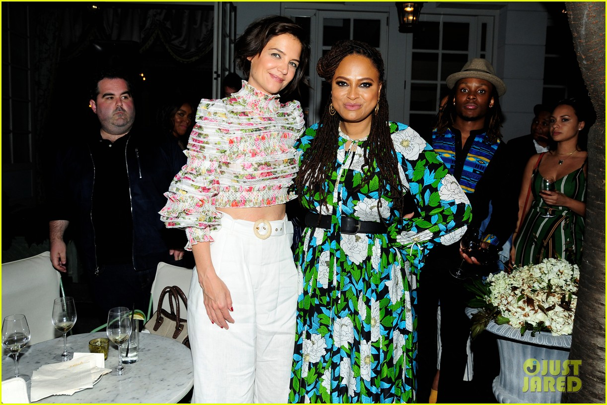 katie holmes mother step out to support ava duvernay at queen sugar garden party 104088192