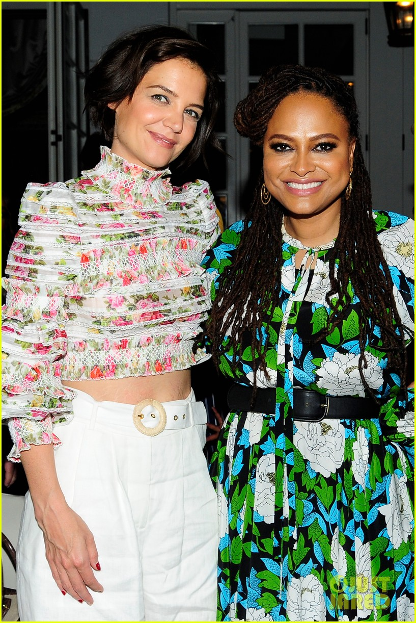 katie holmes mother step out to support ava duvernay at queen sugar garden party 114088193