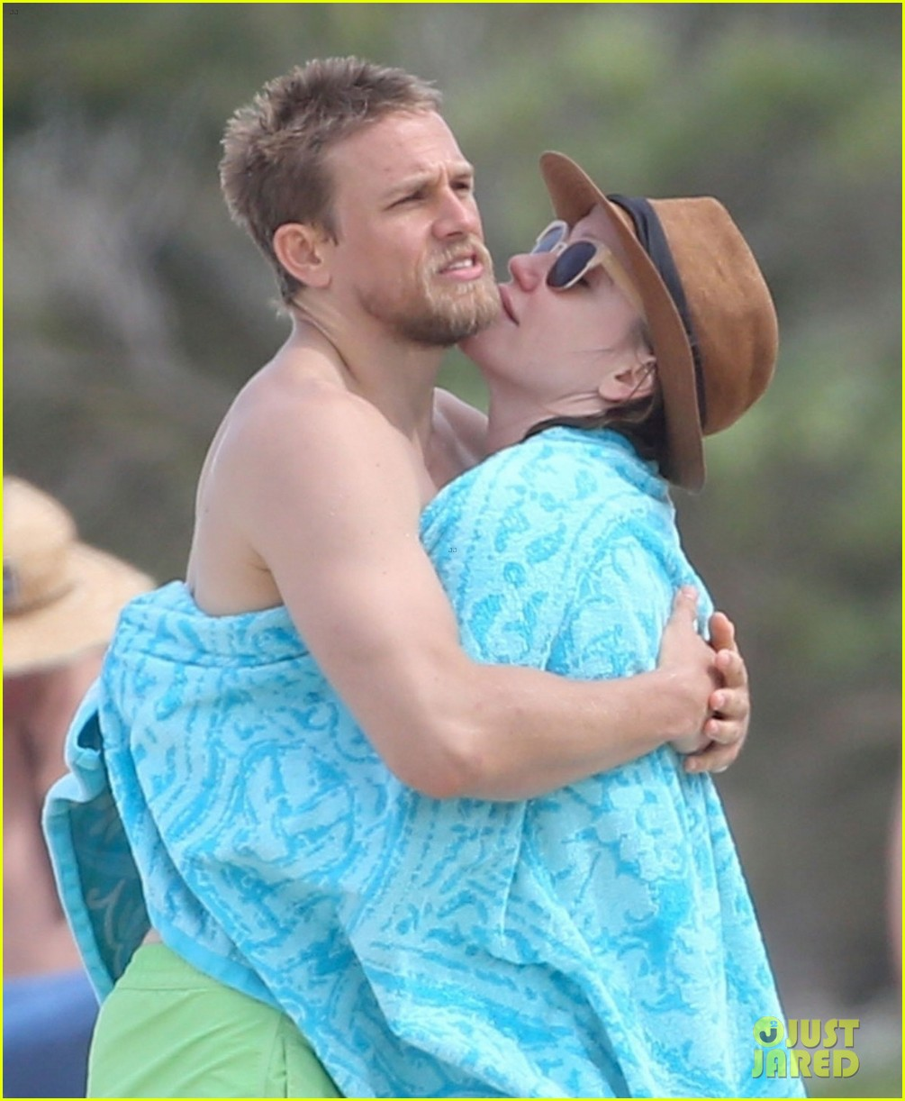 how did charlie hunnam and morgana mcnelis meet the millers