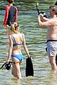jaime king goes snorkeling in hawaii with hubby kyle newman 03