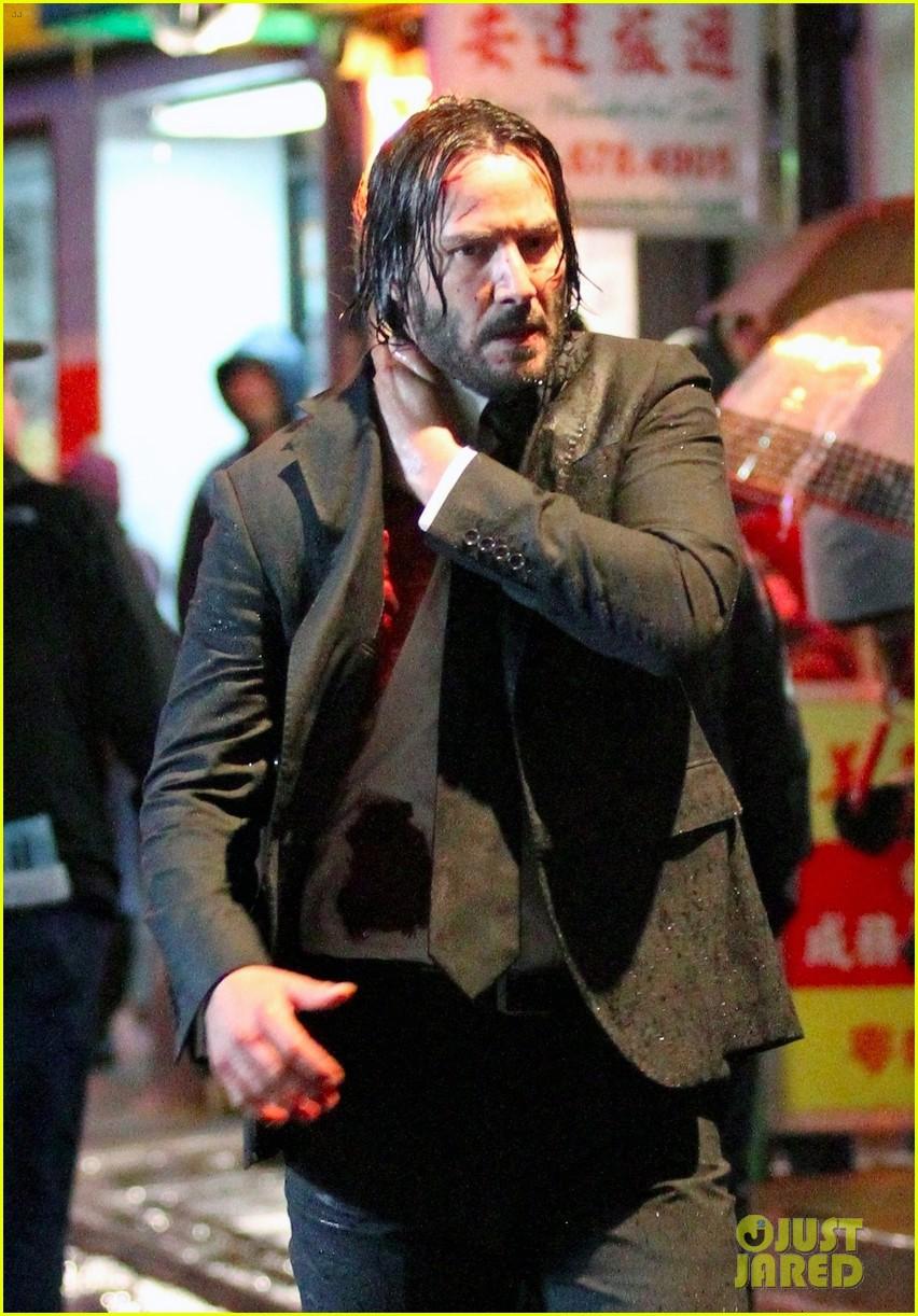 Keanu Reeves Is Bloody & Soaking Wet in 'John Wick 3' Set ... Cheryl Cole