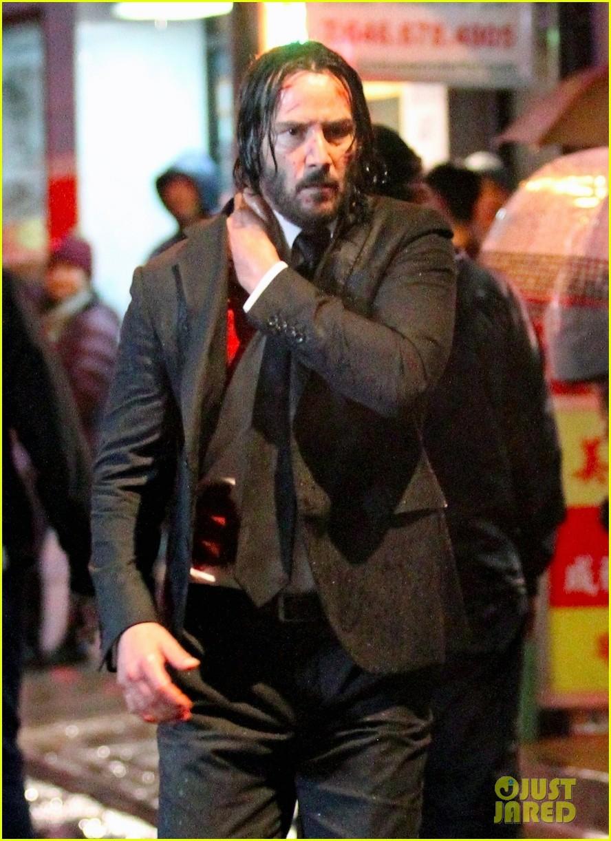 Keanu Reeves Is Bloody...