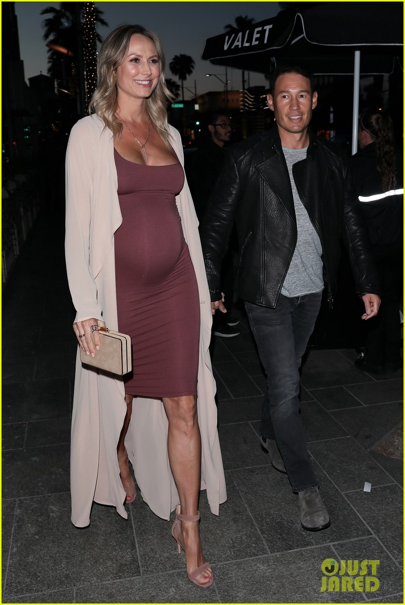 stacy keibler pregnant dinner jared pobre 194091227
