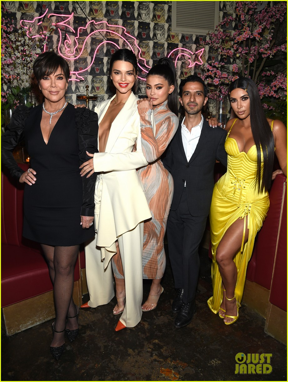 kim kardashian kendall kylie business of fashion dinner 014079740