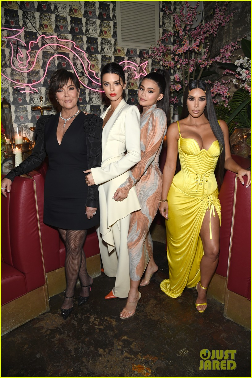 kim kardashian kendall kylie business of fashion dinner 054079744