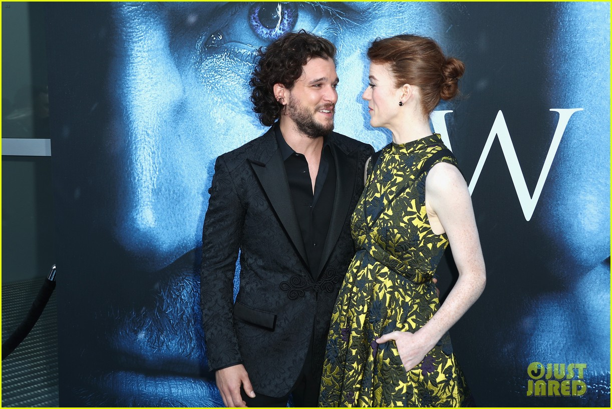 kit harington rose leslie photos 104091264