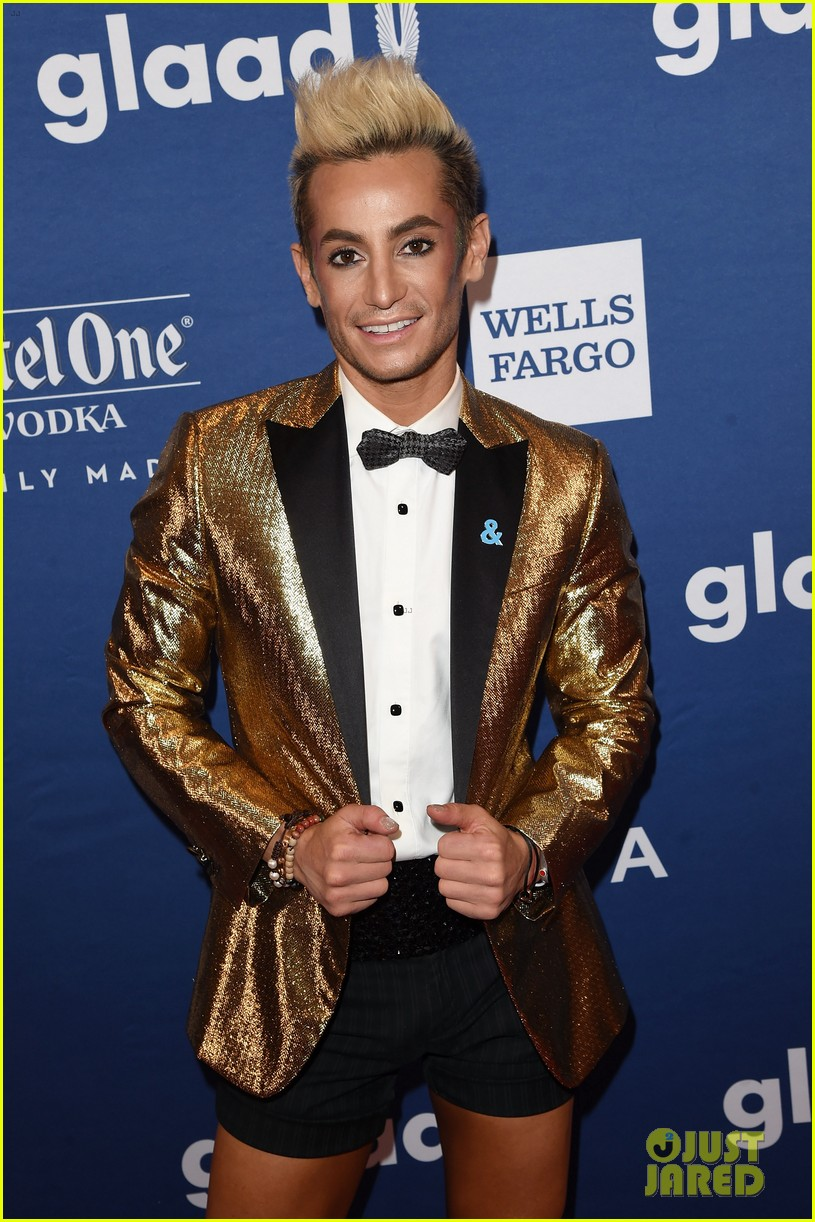 lea michele joins alexis bledel laverne cox at glaad media awards 194077303