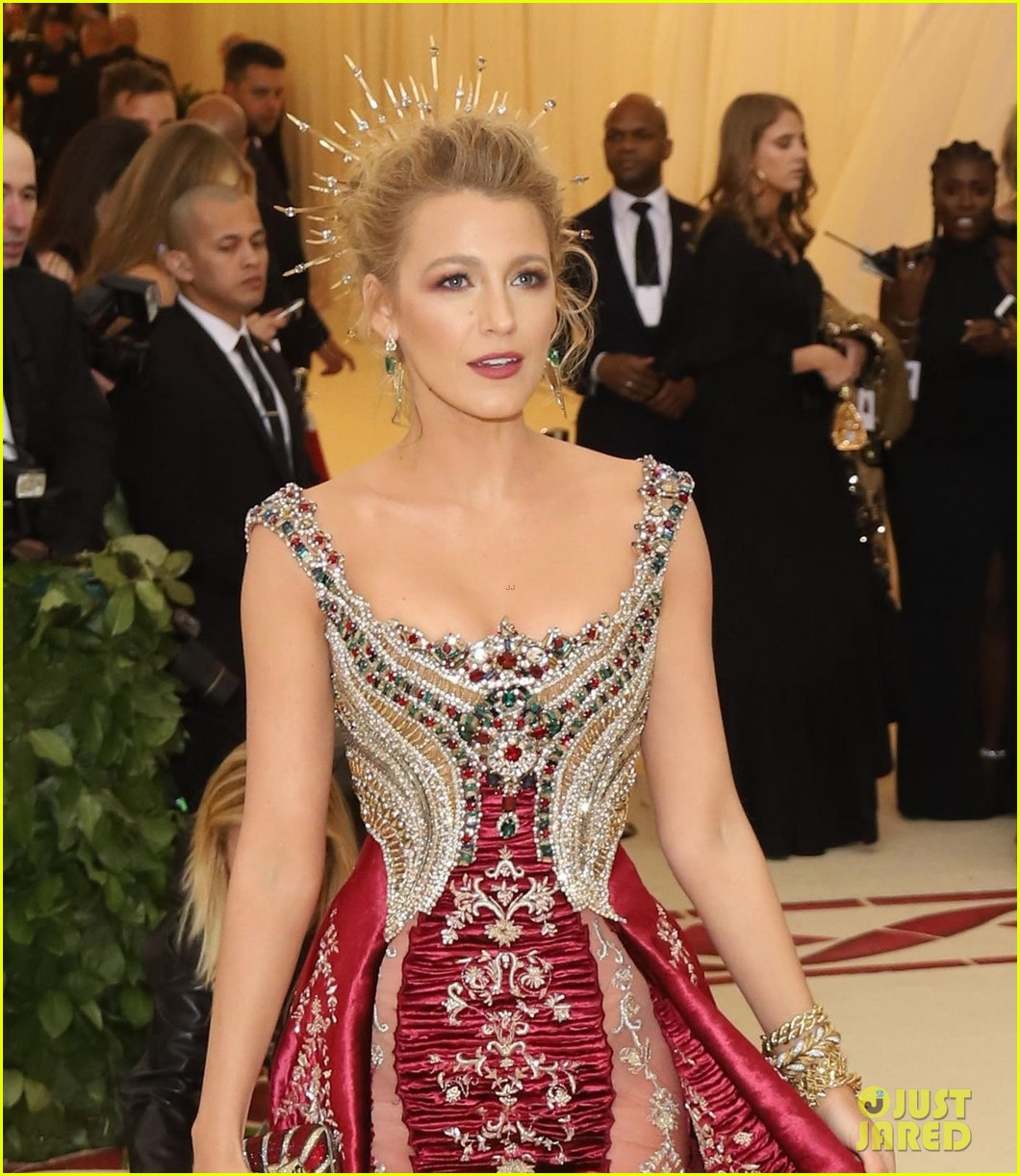 Blake Lively Wears Her...