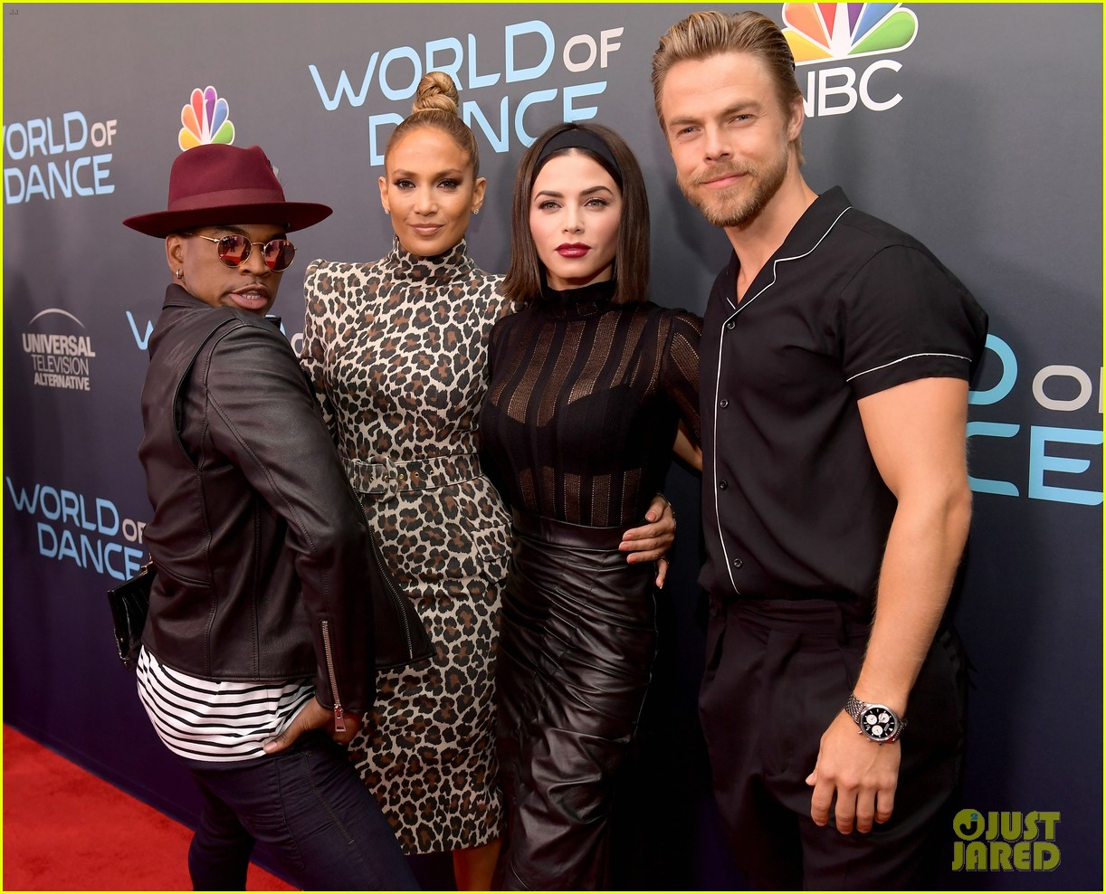 jennifer lopez jenna dewan world of dance event 384075518