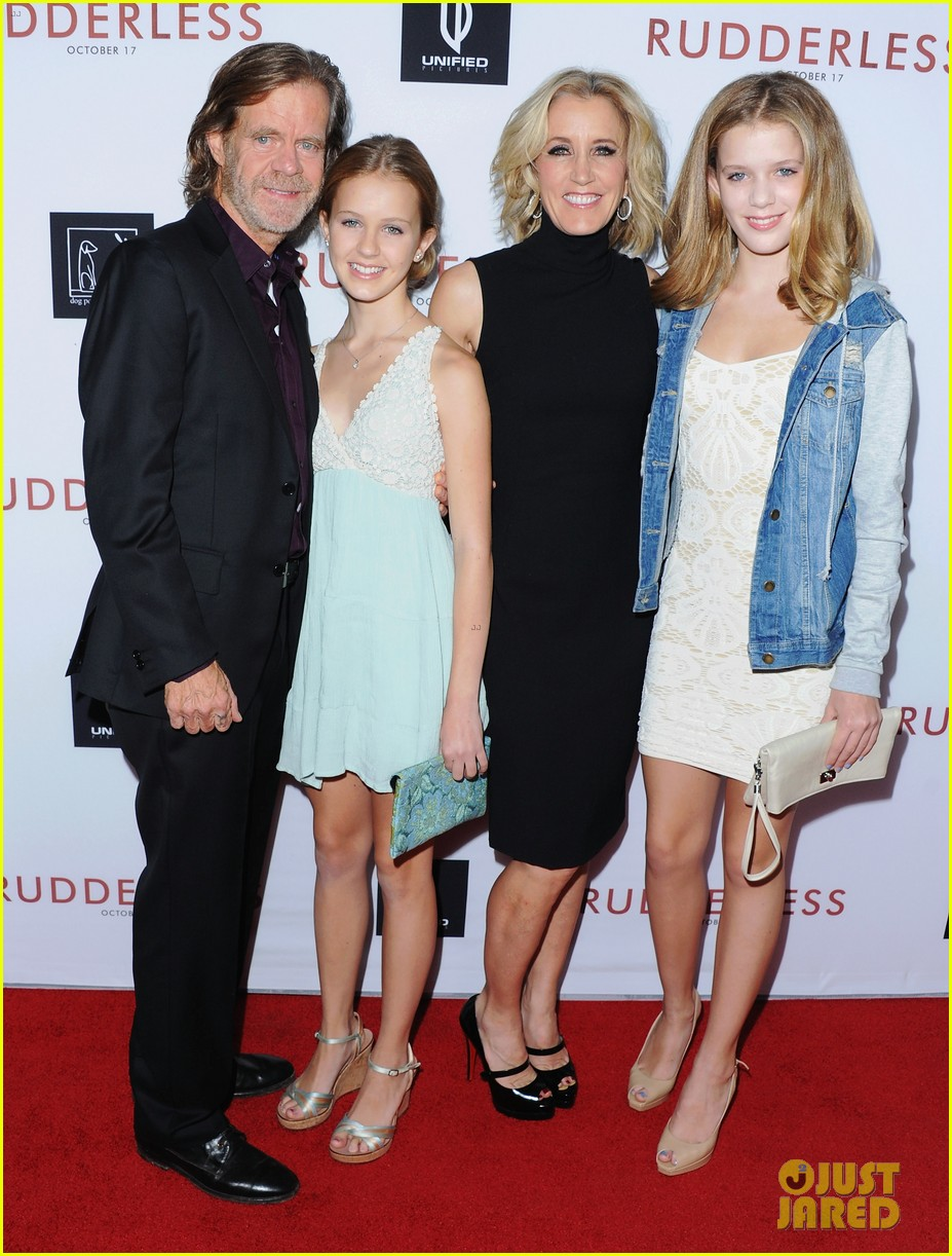 william h macy daughters 054091244