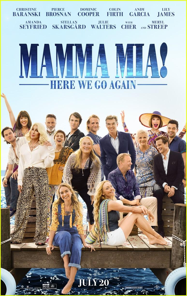 mamma mia sequel poster 024078229
