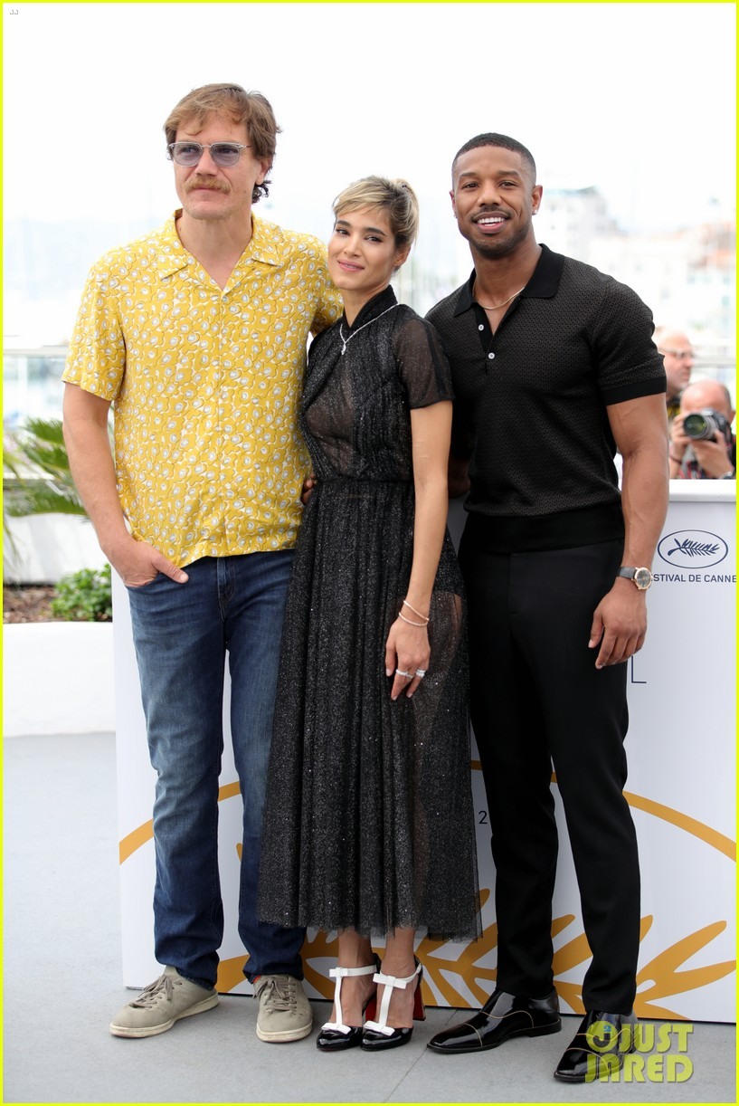 607b9ba86ff40f Michael B. Jordan Attends  Fahrenheit 451  Cannes Photo Call  Photo 4081497