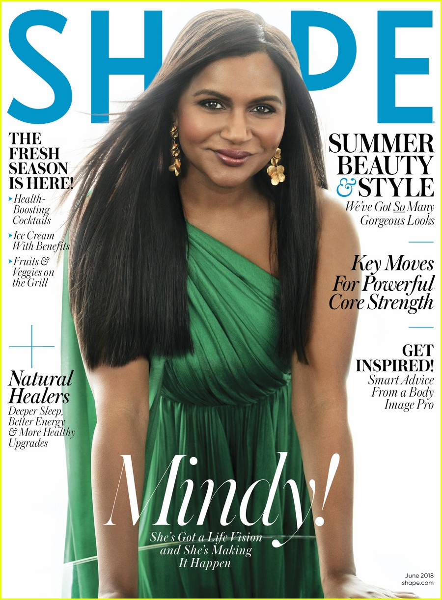 mindy kaling shape june 014084205