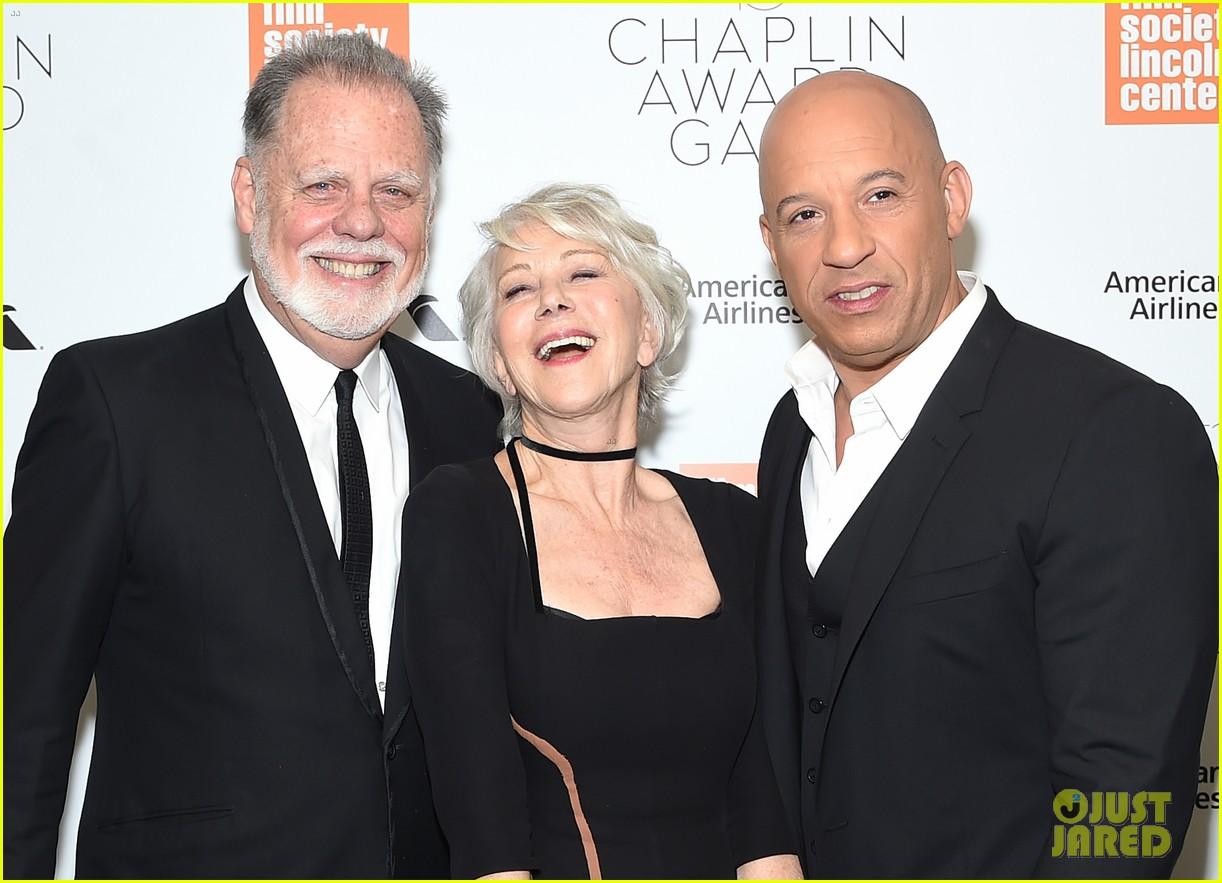 helen mirren supported by famous friends at chaplin award gala 074075044
