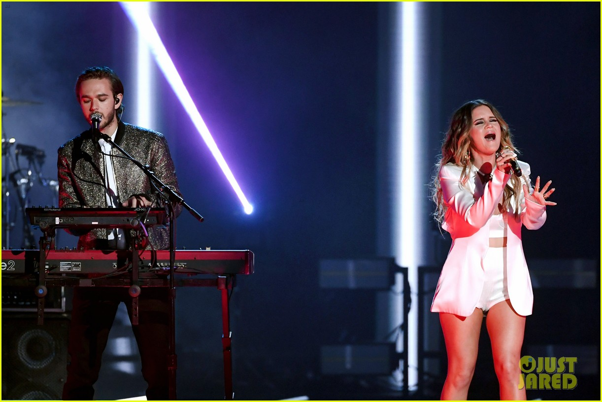 marren morris zedd perform the middle at bbmas 034087736