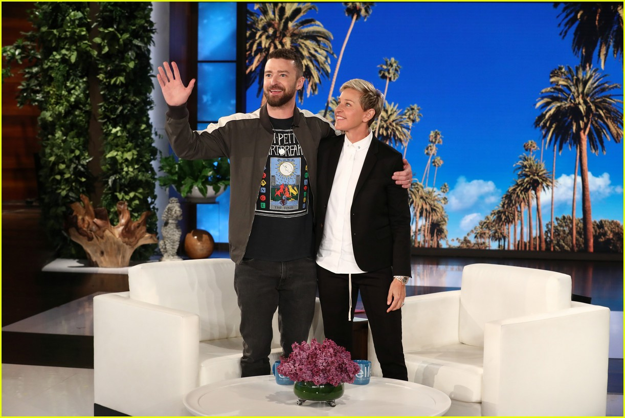 nsync plays never have i ever during surprise appearance on ellen 024075002