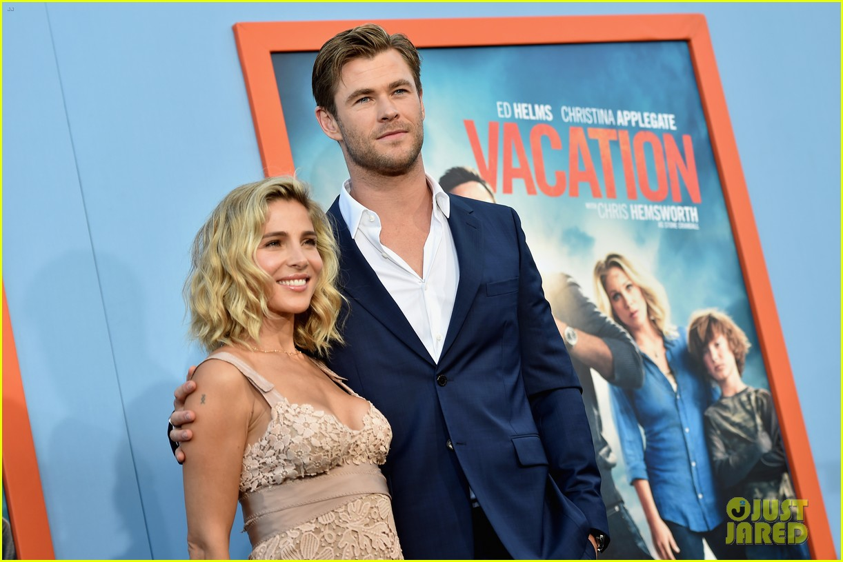 chris hemsworth and elsa pataky meet