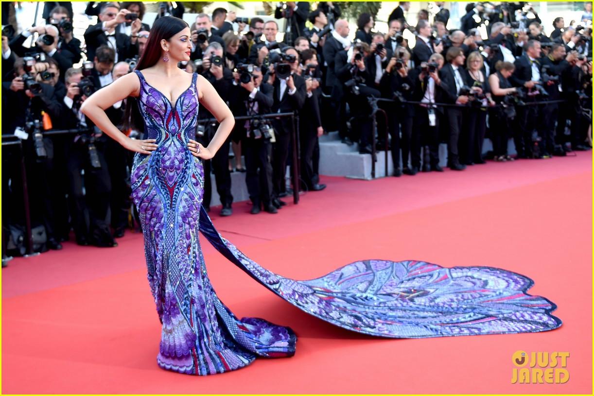 Bollywood Star Aishwarya Rai Makes Red Carpet Return For Cannes 2018