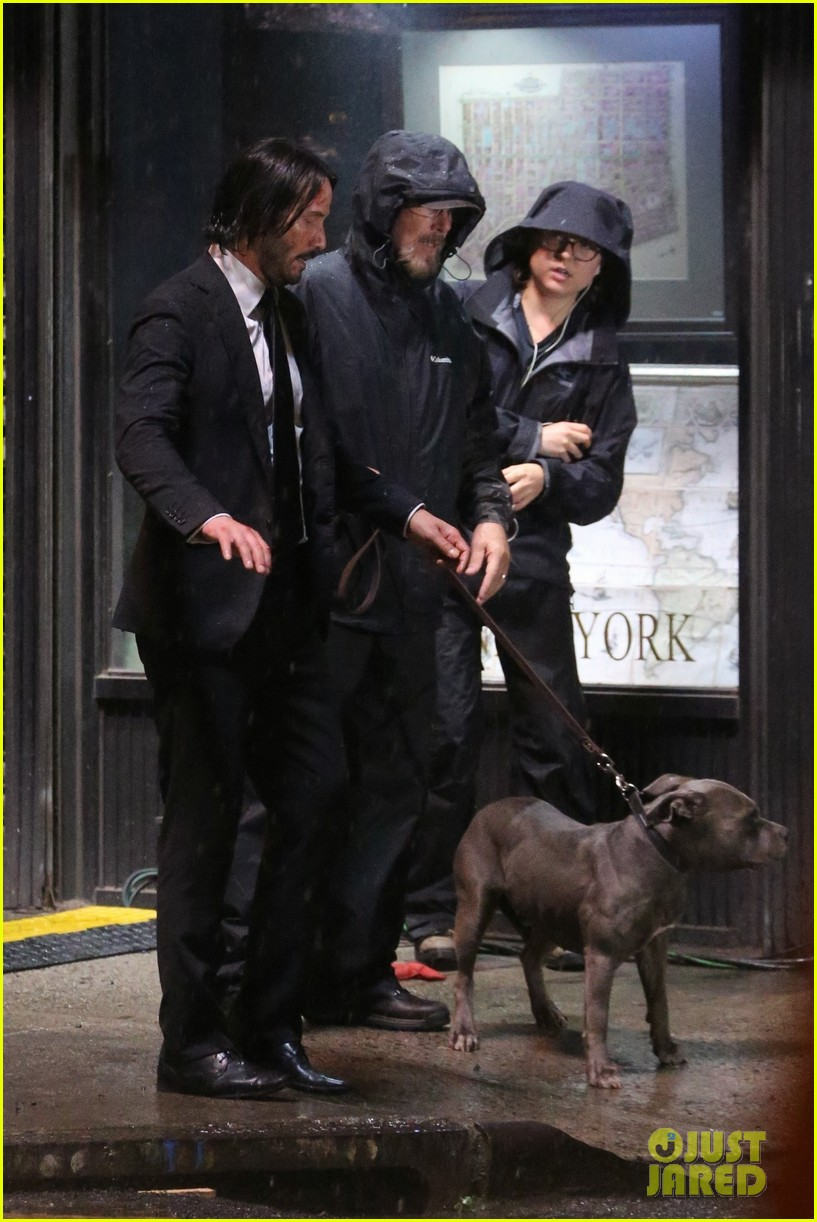 keanu reeves gets caught in the rain again for john wick 024090273