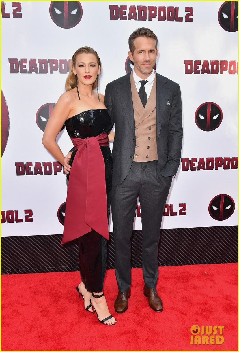 ryan reynolds blake lively deadpool 2 premiere 014082668