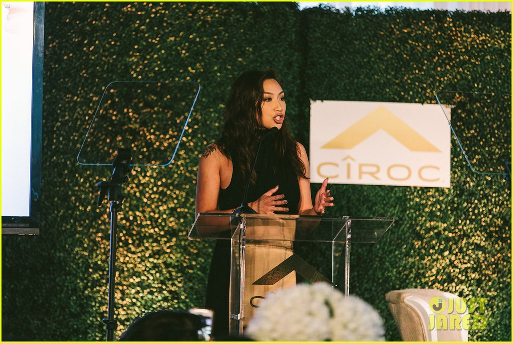 gina rodriguez and sophia bush share a hug at ciroc empowered womens brunch 164090156