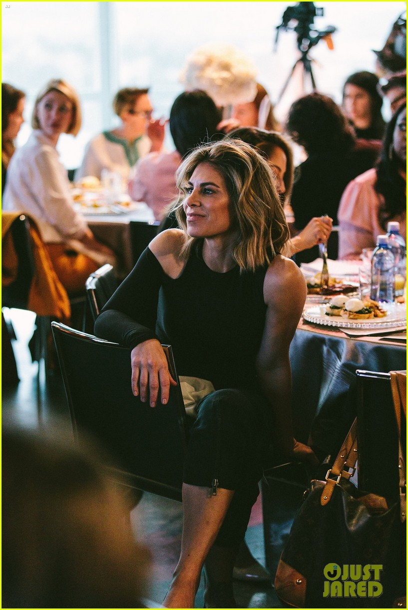 gina rodriguez and sophia bush share a hug at ciroc empowered womens brunch 184090158