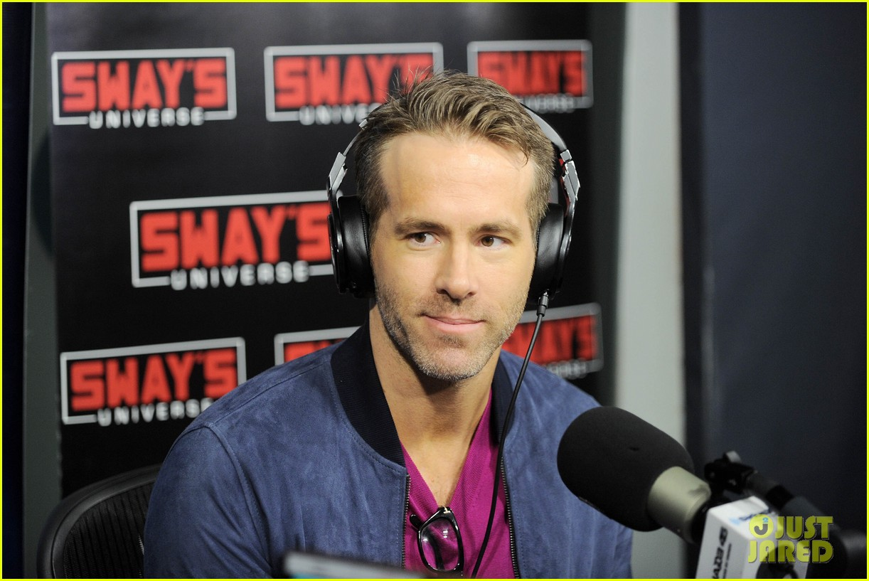 ryan reynolds siriusxm appearance 054083394