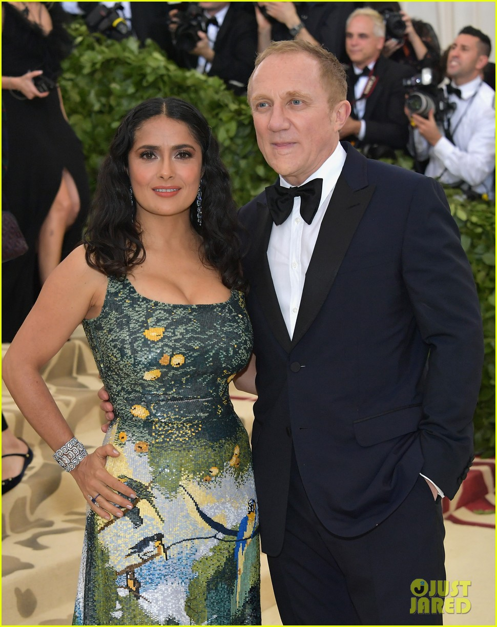 how did salma hayek and franois henri pinault meet