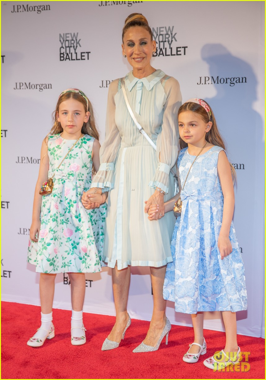 sarah jessica parker ballet twin daughters 014076592