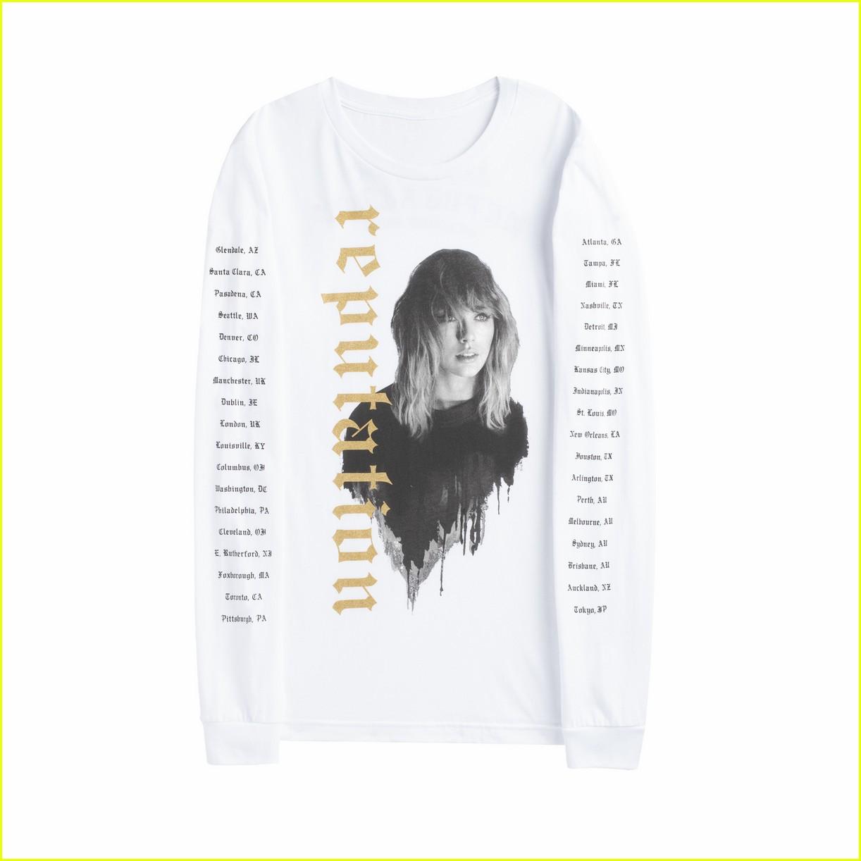 Taylor Swift Debuts 'r... Taylor Swift Reputation Merchandise